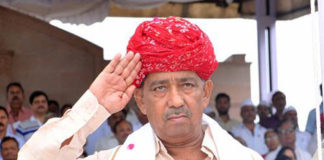 Rajasthan President's Commission on Farmers Proksanvr Lal Jat died