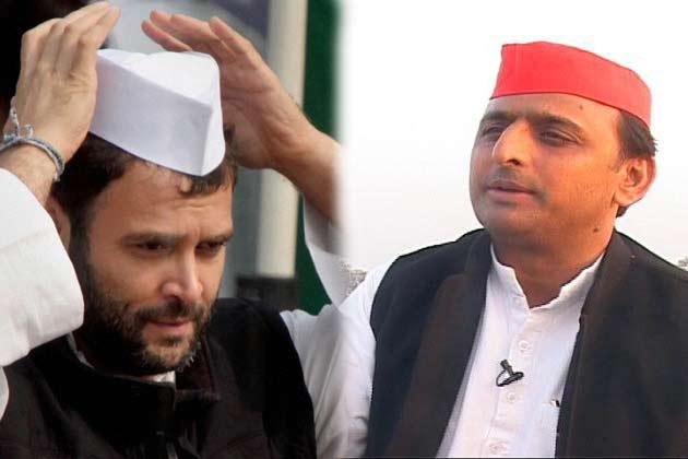 Image result for राहुल अखिलेश