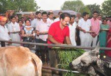 Shramdan Congress workers - Khatriyavas