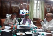 Meetings of GST- Minister of State with Finance Minister Santosh Gangwar, delegation of Indian industry