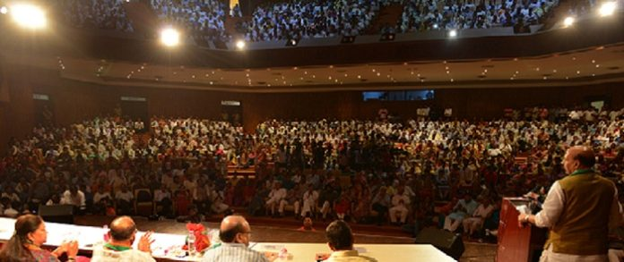 The game changer for the economy of the 'one nation-one tax-one market' in the form of GST - Union Home Minister Rajnath Singh BJP Jaipur City Worker Conference
