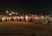 Farmer's movement Rajasthan Kisan Mahapadav Dhana demonstration candle March Indian Farmers Union