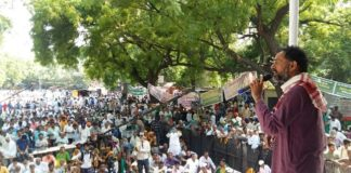 Farmers across the country are full of Jantar-Mantar Jantar Mantar reached many MPs of Kisan Mukti Parliament