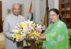 chief-minister-vasundhara-rajes-courtesy-gift-from-president-kovind