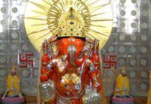 Maritim is Motitungari Ganesh idol, Ganesh Charturi