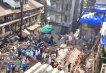 Mumbai: Five-storey building collapses, 13 people die