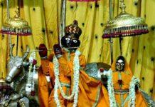 Jaipur kings three saved Krishna Deity