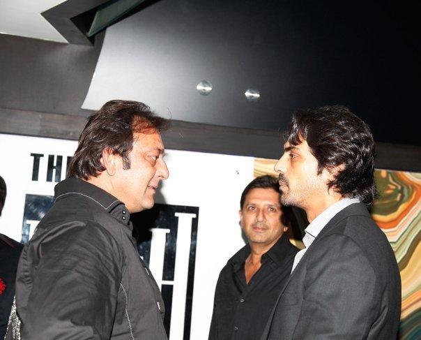 Arjun rampal sanjay dutt