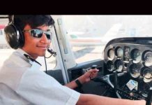 Indian Mansur Anees pilot