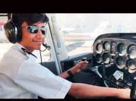 Indian Mansur Anees pilot