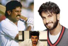 Arjun Kapoor was fielding, Ranvir Singh rolled Kapil Dev's roll