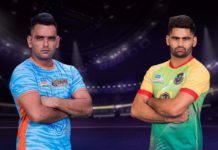 Bengal Warriors Patna Pirates
