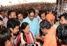 Opening of development works in Pushkar and foundation stone