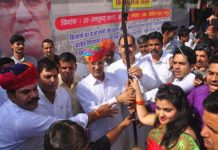 Leader of Opposition Rameshwar Dudi launches 'Kisan Lok Milan' program
