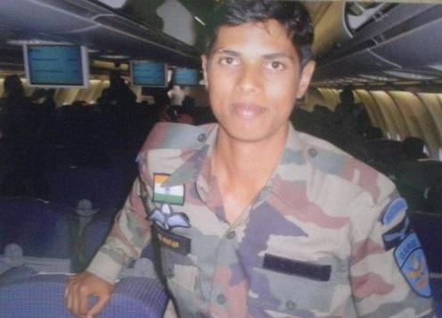 Shaheed Nilesh Kumar Nayan, Garuda commandos