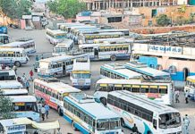 Operation of illegal buses, curbing officers, ordering videography