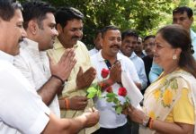Jaipur. Chief Minister Vasundhara Raje - employee organization - 7th Pay Commission
