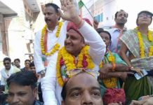 Ikramuddin's record win in by-election, defeated BJP candidate by 5232 votes in the ward 76 of Jaipur Municipal Corporation.