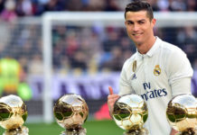 FIFA Best Player Award for Ronaldo