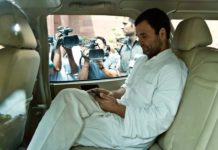 Rahul's style on the tour of Gujarat remembered his grandmother