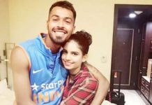 Hearty Pandya with 'Mystery Girl'