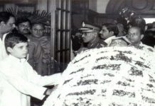 Did you see the body of grandmother Indira Gandhi ... Rahul
