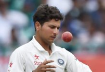 My final goal of bowling long spell in Test: Kuldeep