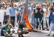 Damages to government property during the demonstration may be due to fines along with jail