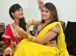 Fourteen days before Diwali, the festival of Sanjanya