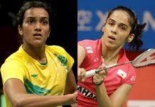 Sindhu out of Denmark Open, Saina defeats Marin