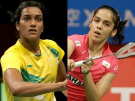 Sindhu out of Denmark Open, Saina defeats Marin