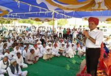 Rameshwar Dudi gives gifts to the villages of Nokha