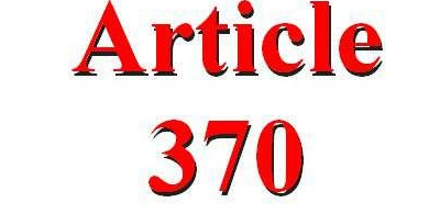 Article 370 and 35 A are the unnecessary burden of the past: Kashmiri Pandit