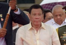 The Philippine President said that he killed a person.