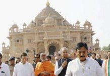 Rahul Gandhi launches election campaign from Akshardham Temple in North Gujarat