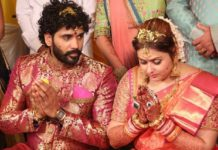 Actress Namita married film producer Virendra