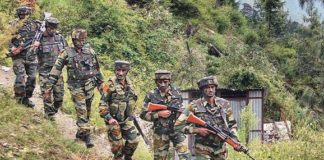 Five militant piles in the encounter in Kashmir, Garuda commandos martyrs of Air Force