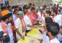 bjp rajasthan membership campaign