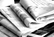 Imphal-based newspapers left the editorial space vacant