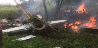 Air Force training in Telangana plane crash, women pilot safe