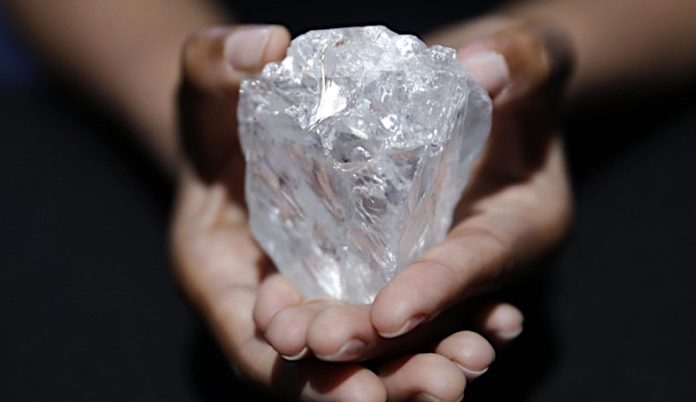 The biggest diamond we got in auction for 220 crore rupees