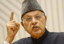 High court to hear plea against Farooq Abdullah