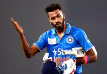 At the beginning, after the selection, due to the workload, the rest given to Hardik