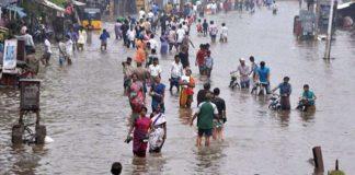 Heavy rains lash Tamilnadu, 93 percent more rain in Chennai