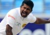 Herath, out of third Test match, joins Wanderers Sri Lanka team