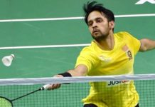 Kashyap in main draw of Hong Kong Open