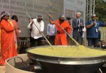 The smell of the morning of 'Khichdi' reached the Guinness Book