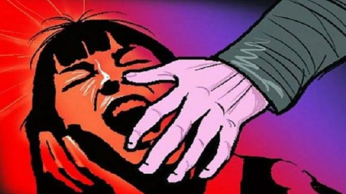 A woman has committed ten years of innocence, three people committed gangrape for many days