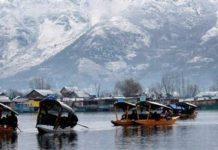 The coldest night of night till now in Srinagar