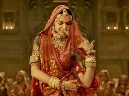 In the movie house when the trailer of 'Padmavati' was shown
